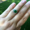 1.87ct Jadeite Halo Ring 6