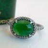 1.87ct Jadeite Halo Ring 0