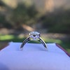 2.53ctw Old European Cut Diamond French Cut Side Stones Ring, by Single Stone 28