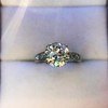 2.53ctw Old European Cut Diamond French Cut Side Stones Ring, by Single Stone 37