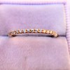 Rose Gold Micropave Diamond Band, by Single Stone 6