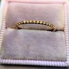 Rose Gold Micropave Diamond Band, by Single Stone 13