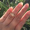 1.02ctw Rose Cut Diamond Bezel Ring, by Liseanne Frank 15