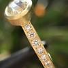 1.02ctw Rose Cut Diamond Bezel Ring, by Liseanne Frank 10