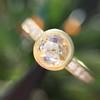 1.02ctw Rose Cut Diamond Bezel Ring, by Liseanne Frank 14