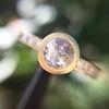 1.02ctw Rose Cut Diamond Bezel Ring, by Liseanne Frank 7