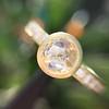 1.02ctw Rose Cut Diamond Bezel Ring, by Liseanne Frank