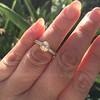 1.02ctw Rose Cut Diamond Bezel Ring, by Liseanne Frank 16