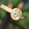 1.02ctw Rose Cut Diamond Bezel Ring, by Liseanne Frank 6