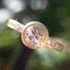 1.02ctw Rose Cut Diamond Bezel Ring, by Liseanne Frank 2