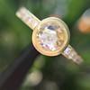 1.02ctw Rose Cut Diamond Bezel Ring, by Liseanne Frank 11