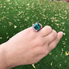 11.77ct Tourmaline Halo Ring by Leon Mege, AGL Cert 48