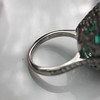 11.77ct Tourmaline Halo Ring by Leon Mege, AGL Cert 36