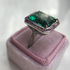 11.77ct Tourmaline Halo Ring by Leon Mege, AGL Cert 45