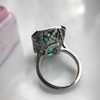 11.77ct Tourmaline Halo Ring by Leon Mege, AGL Cert 2