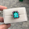 11.77ct Tourmaline Halo Ring by Leon Mege, AGL Cert 17