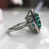 11.77ct Tourmaline Halo Ring by Leon Mege, AGL Cert 1