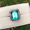 11.77ct Tourmaline Halo Ring by Leon Mege, AGL Cert 13