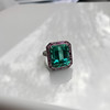 11.77ct Tourmaline Halo Ring by Leon Mege, AGL Cert 27