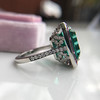 11.77ct Tourmaline Halo Ring by Leon Mege, AGL Cert 38
