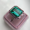 11.77ct Tourmaline Halo Ring by Leon Mege, AGL Cert 44