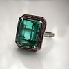 11.77ct Tourmaline Halo Ring by Leon Mege, AGL Cert 28
