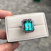11.77ct Tourmaline Halo Ring by Leon Mege, AGL Cert 16