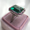 11.77ct Tourmaline Halo Ring by Leon Mege, AGL Cert 46