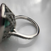 11.77ct Tourmaline Halo Ring by Leon Mege, AGL Cert 35