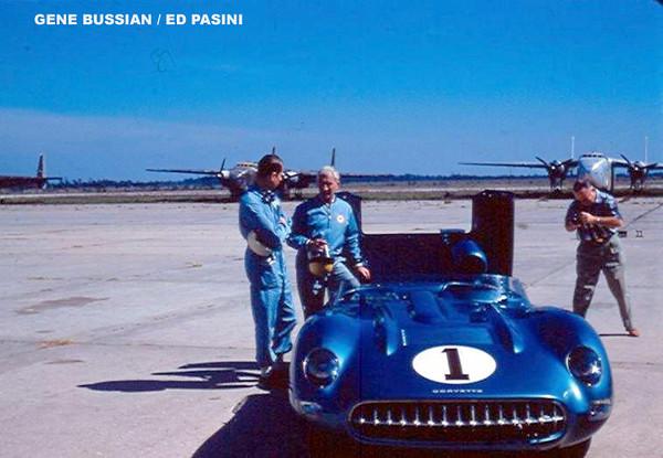# 1 - FIA - 1957 - Sebring - John Fitch, Zora Duntov, Corvette SS
