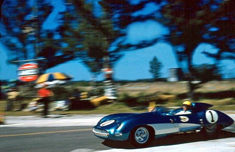 # 1 - FIA - 1957 - Sebring - Zora Arkus Duntov, Corvette SS test lap