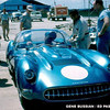 # 1 - FIA - 1957 - Sebring - John Fitch, Corvette SS w/bubble top