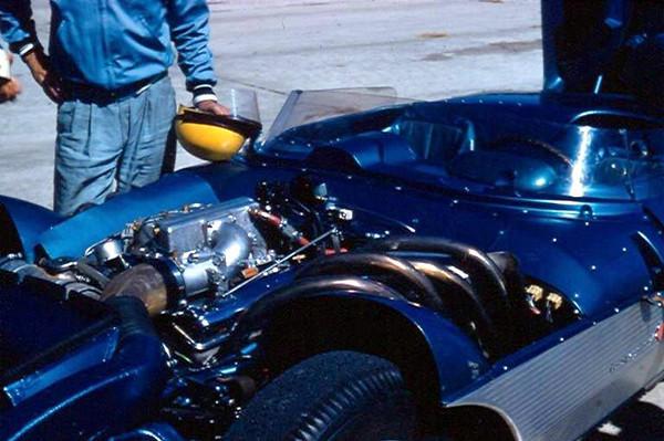 # 1 - FIA - 1957 - Sebring - John Fitch, Corvette SS, 283 fuel injection
