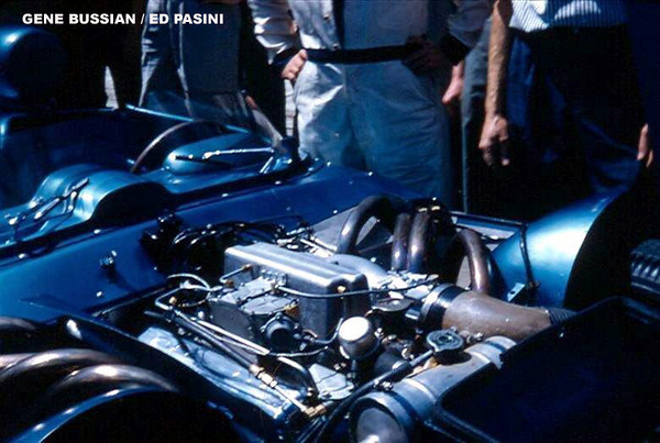 # 1 - FIA - 1957 - Sebring - Corvette SS Fuel Injected 283 engine