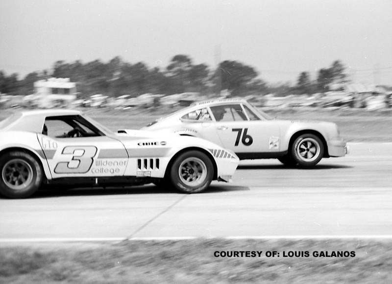 # 3 - IMSA - 1973 - Sebring - Dick Bauer, Nick Engels, ex Jerry Hansen #44 runoffs?