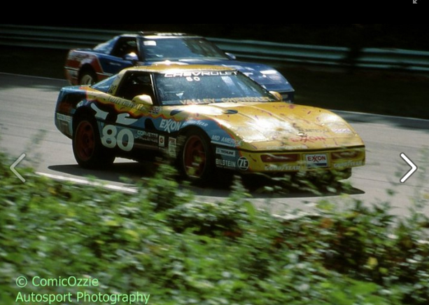 # 80 - 1989 Corv Chall - Willy Lewis at Road America - 05