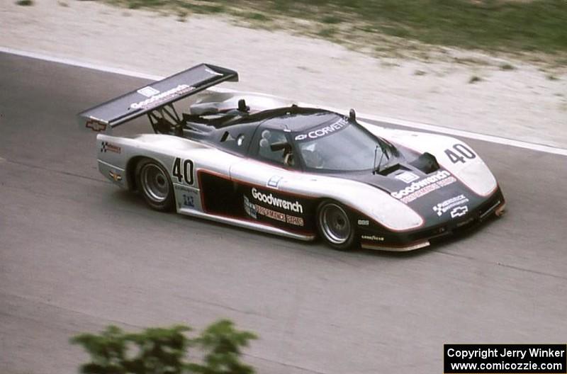 # 40 - 1985, IMSA GTP, David Hobbs, Sarel Ven der Merwe at Road America