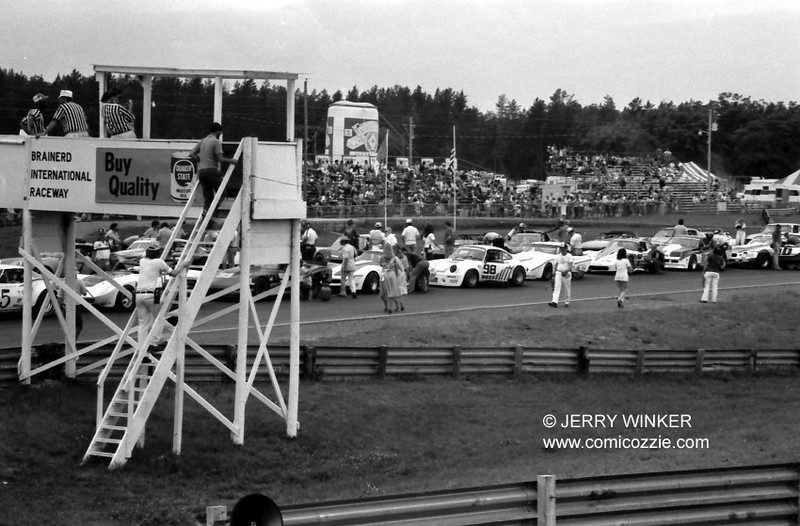 1980 Brainerd Int'l SCCA TA - Oveview of Grid