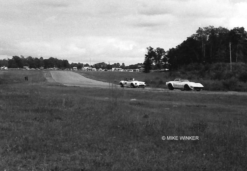 # 144 - 1975 SCCA TA - Jerry Hansen leads Bob Tullius Group 44 Jag at Brainerd
