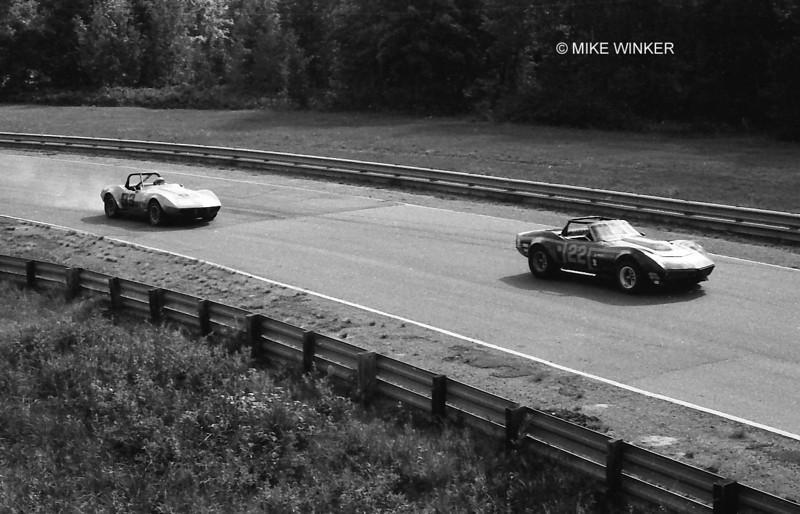 # 22 - 1975 SCCA TA - Denny Long leads Steve Kline at Brainerd