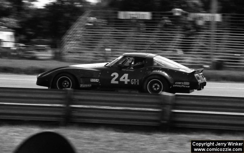 # 24 - 1981 - IMSA, Rick Dittman at Brainerd, Jerry Winker photo