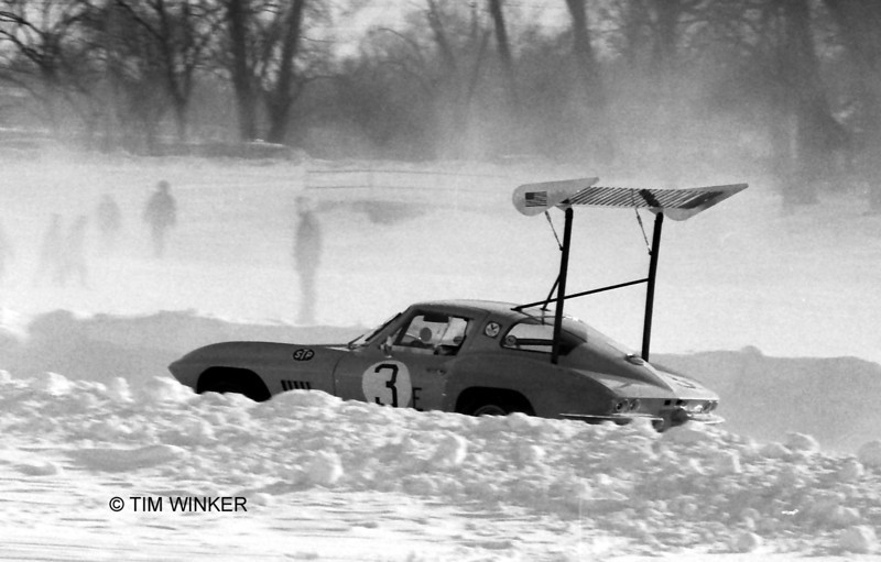 # 3 - 1971 Can-am Ice Race Series - John Biza at St Paul