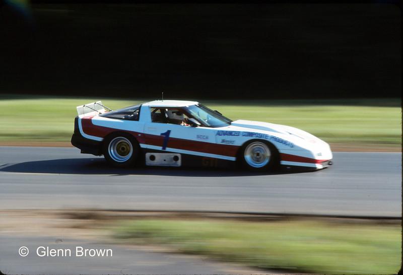 # 1 - 1989 SCCA GT1 - Kerry Hitt at Summit Pt - 01