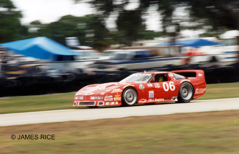 # 06 - 1995 IMSA - Doug Rippie LeMans ZR1 at Sebrng  01
