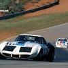 # 10 - SCCA TA, Road Atlanta, 1973 - Tony DeLorenzo in Budd-sponsored car. Paint scheme (again) by Randy Wittine.