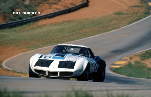# 10 - SCCA TA, Road Atlanta, 1973 - Tony DeLorenzo in Budd-sponsored car. Paint scheme (again) by Randy Wittine.