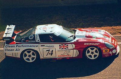 LM 002-95 - # 74 - 1996 FIA Le Mans -  Agusta - 17