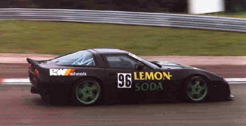 GT2 - # 21, 96 - 1993 ADAC - Callaway LT1 - Lemon Soda