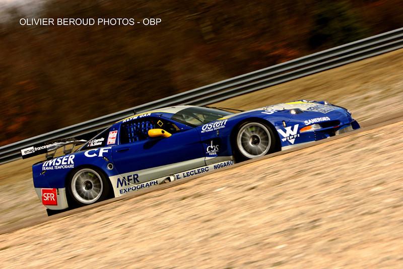 SRO Winter test - Dijon Prenois March 2006 - Corvette C5.R - SRT - Thierry Soave - Eric Cayrolle