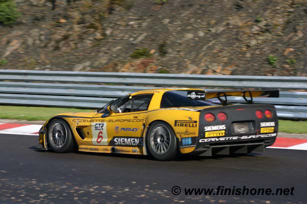 # 6 - 2008 FIA GT1 - Phoenix Carsport C5R-011 - Drivers are Jena-Denis Deletraz and Marcel Féssler